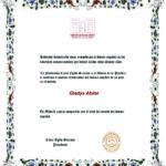 Diploma César Égido Serrano