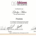 Finalista Ediciones Mis Escritos - Cuento LOS AMANTES DE VERONA